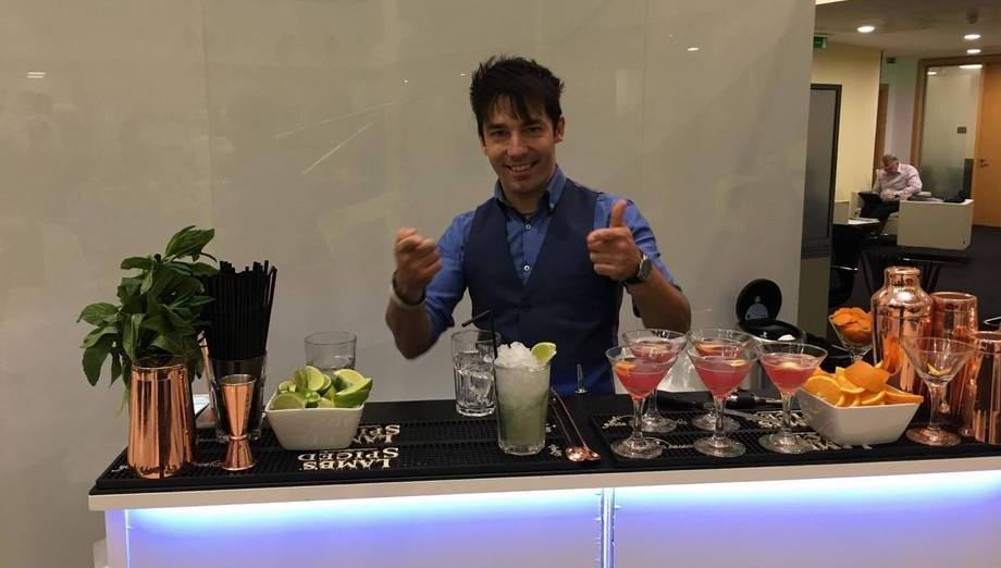 cocktail bartenders for hire in Liverpool