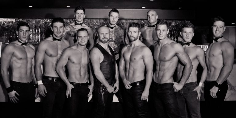 butlers in buff for hen parties
